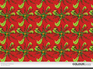Free Christmas pattern background