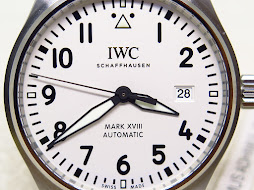 IWC PILOT'S WATCH MARK XVIII WHITE SILVER PLATE DIAL - IW327002 - AUTOMATIC CAL.35111