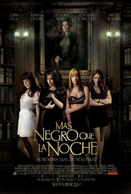 Mas Negro Que La Noche poster