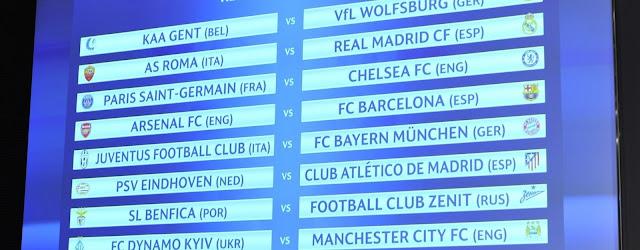 Análise das Oitavas da Champions League