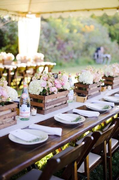 las cajas de madera son la nueva sensación para bodas - quiero una