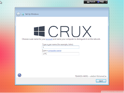 Windows 7 Crux Edition 2015 (x86) for Low Systems