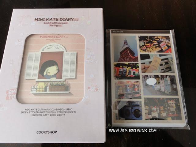 Korean Mini Mate diary S2 from Cookyshop