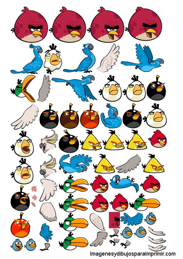 Pegatinas de angry birds