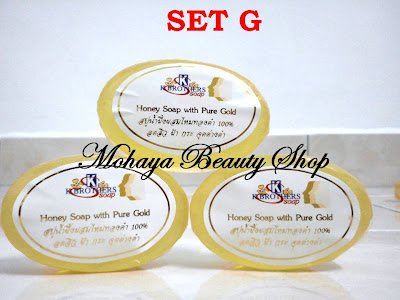 honey soap with pure gold