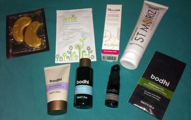 Beauty Blogger goody bag skin goodies A
