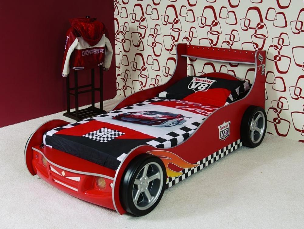 Letto per pompieri auto bambini materasso letto per - Letto macchina per bambini ...