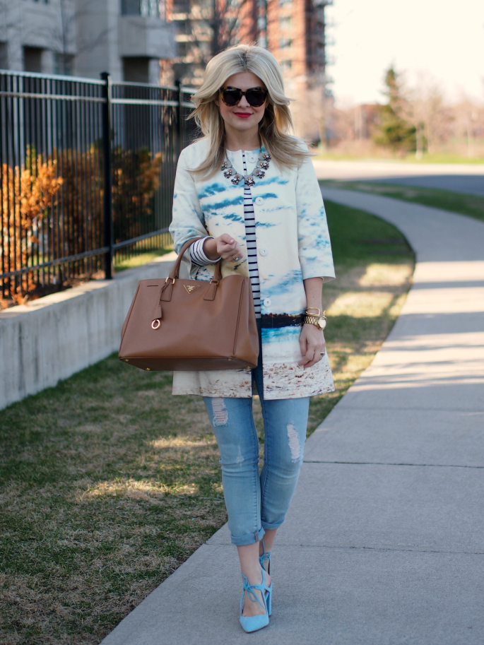Suburban Faux Pas: Sunset Jacket