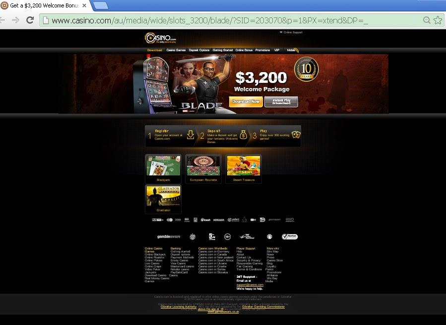 block 888 casino pop up