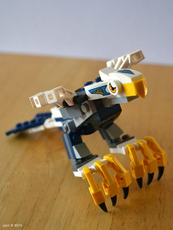 lego chima legend beast eagle - nearly there