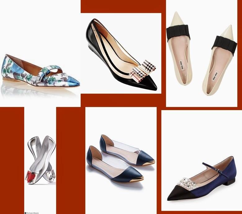 Flat ballets, sabrinas primavera-verão 2015 Louboutin