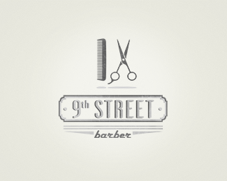 Collection of Inspiring Barber Shop Logo Designs - Jayce-o ...