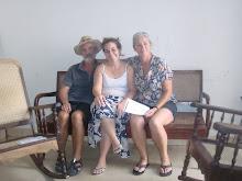 Spaanse lerares in Cienfuegos