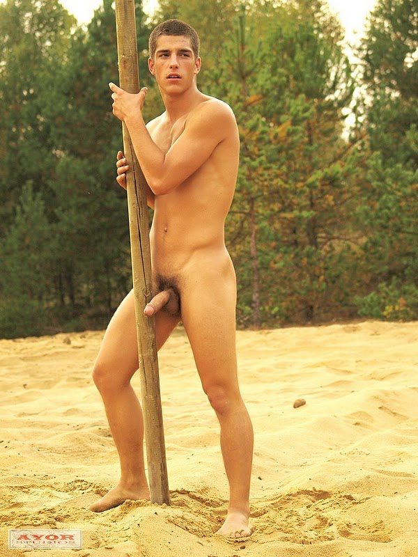 re being naked outdoors