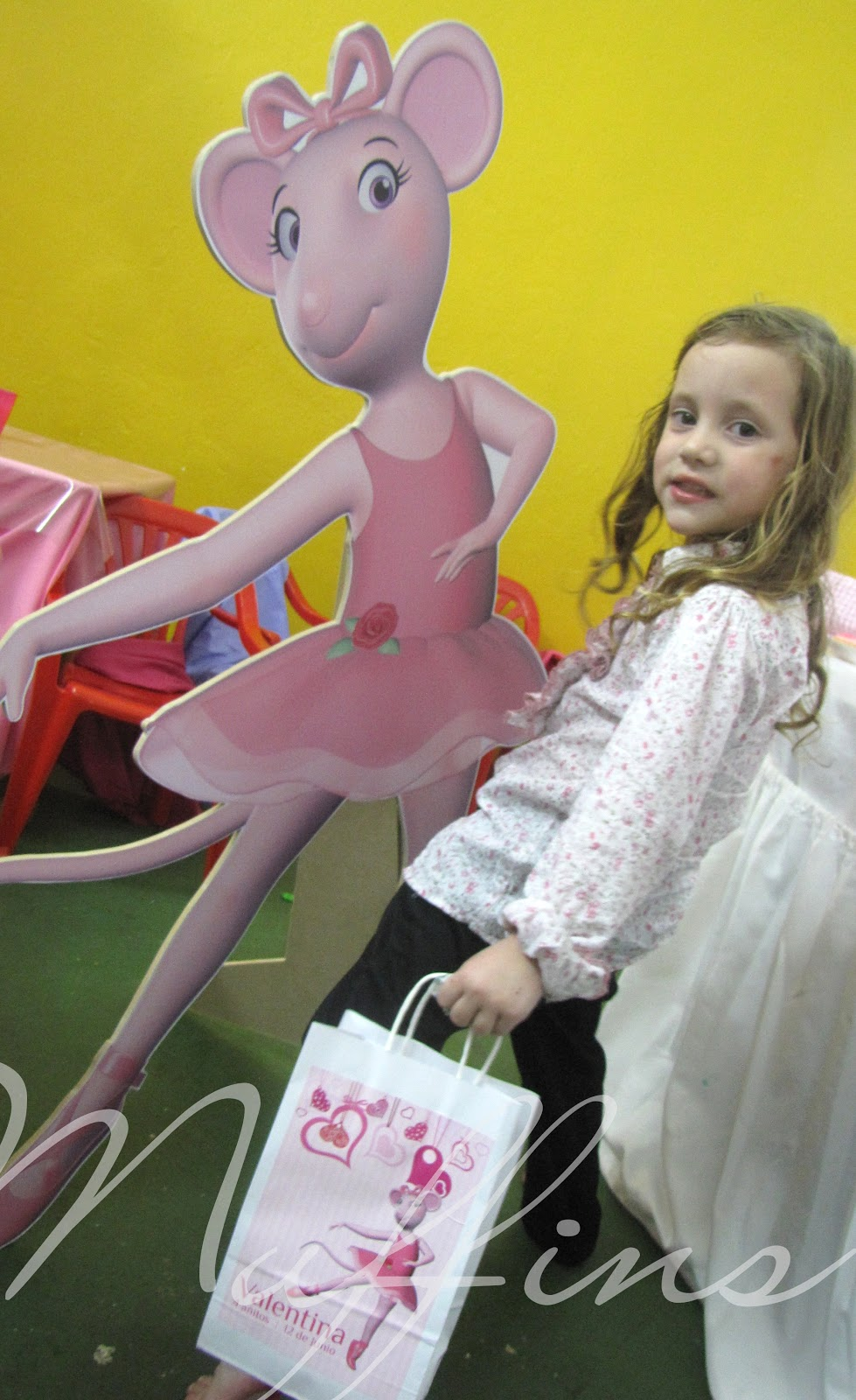 Angelina Ballerina para Valen!
