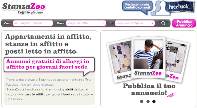 Affitti studenti roma for Ricerca affitti roma