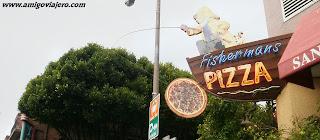 Pizzería en Fisherman´s Wharf, www.amigoviajero.com