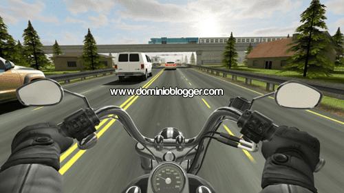 Sortea el trafico a toda velocidad con tu moto en Traffic Rider