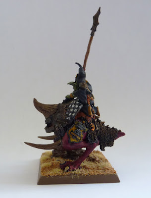 Forge World Night Goblin Warboss on Great Cave Squig