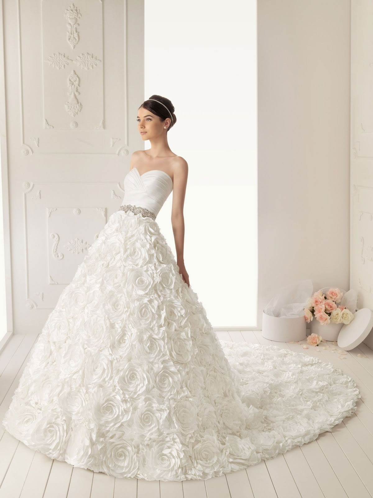 line wedding dress is the best choice for you designing creations