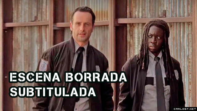 The Walking Dead: Escena borrada Rick y Michonne