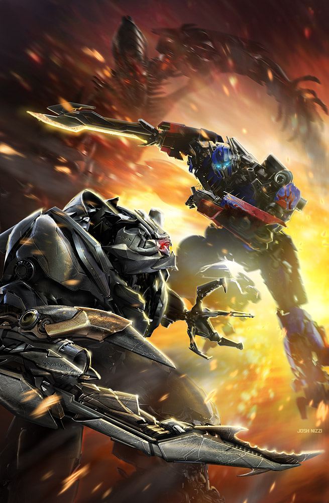 DSNG'S SCI FI MEGAVERSE: OFFICIAL POSTERS FOR TRANSFORMERS ... Transformers 3 Bumblebee Vs Megatron