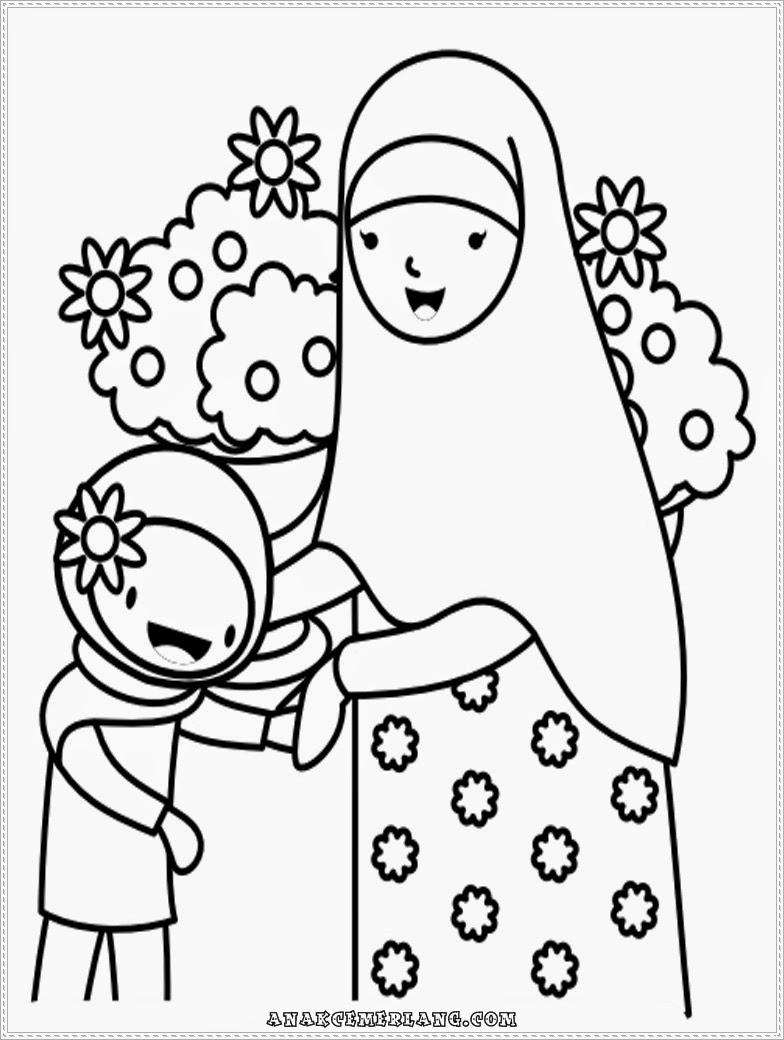 Gambar Kartun Anak Bersalaman Dengan Orang Tua