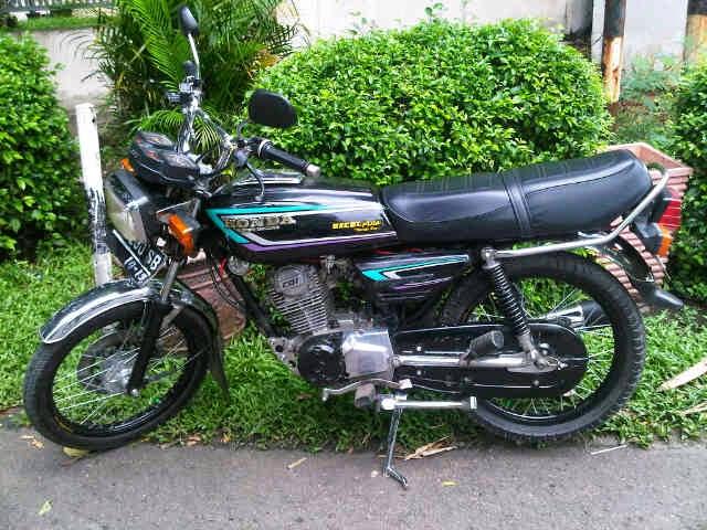 Honda GL 100 Modif Original