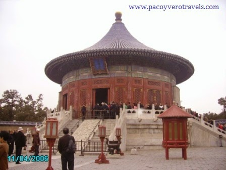 visita al templo del cielo pekin