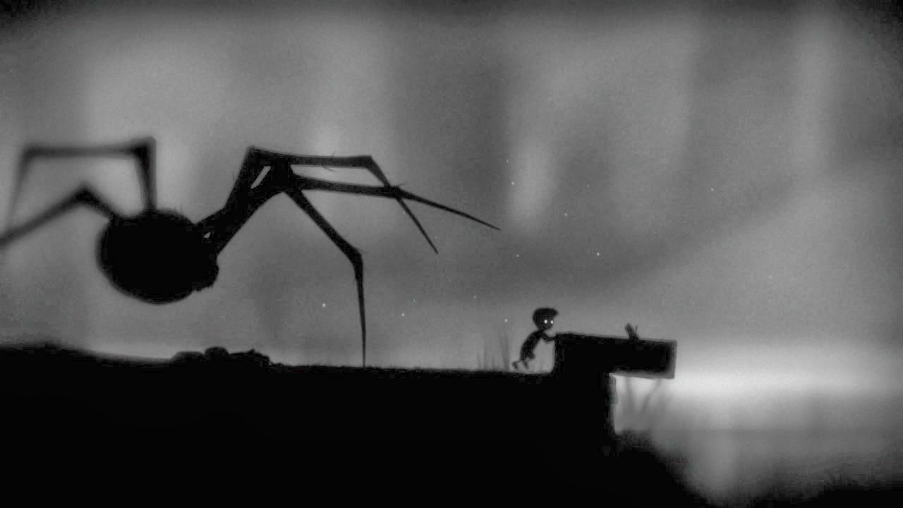 I swear to god, the spider is the scariest video game villain ever...