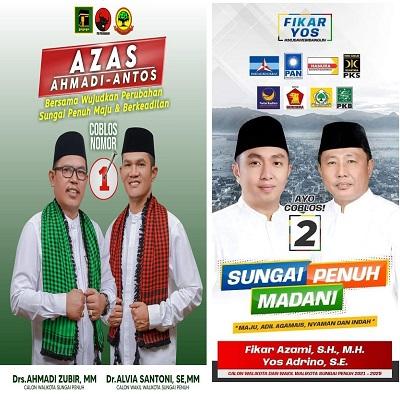 Vote Calon Walikota dan Wakil Walikota Pilihanmu