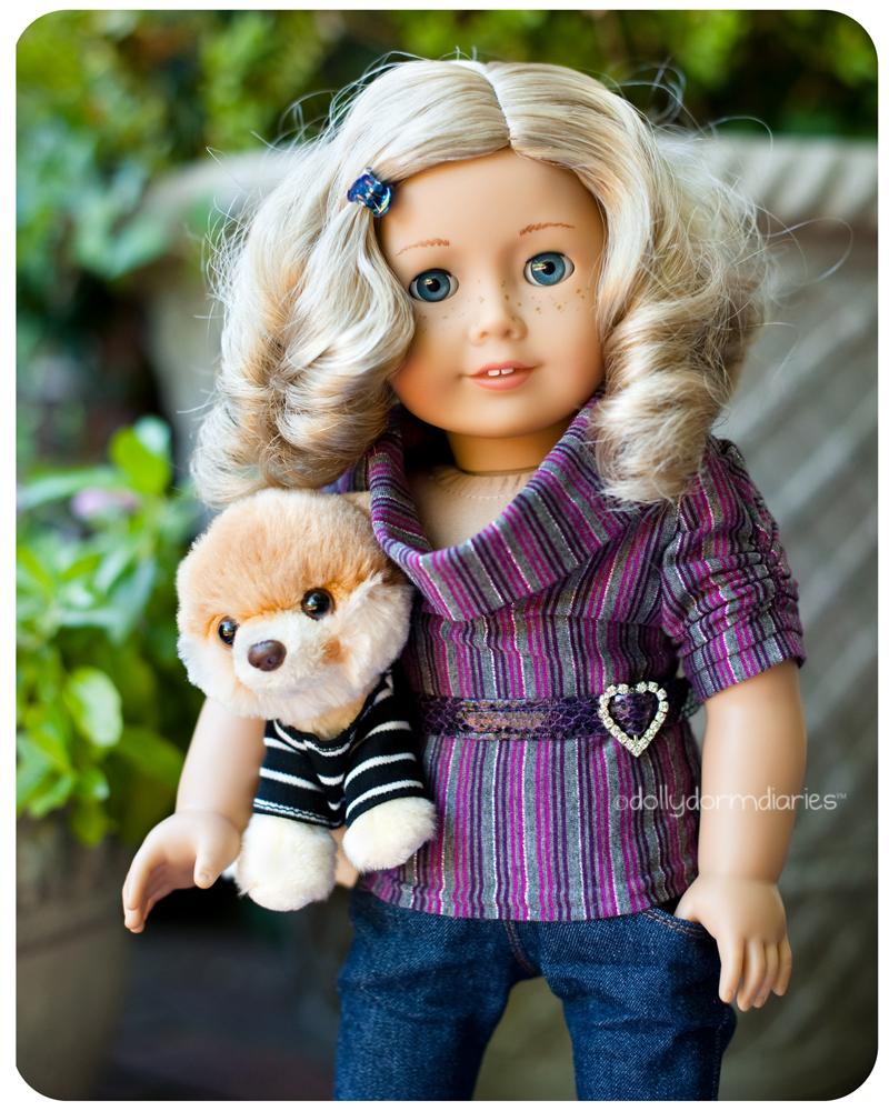 American Girl doll, Hollie. Read 18 inch doll diaries at our American Girl Doll House. Visit our 18 inch dolls dollhouse!