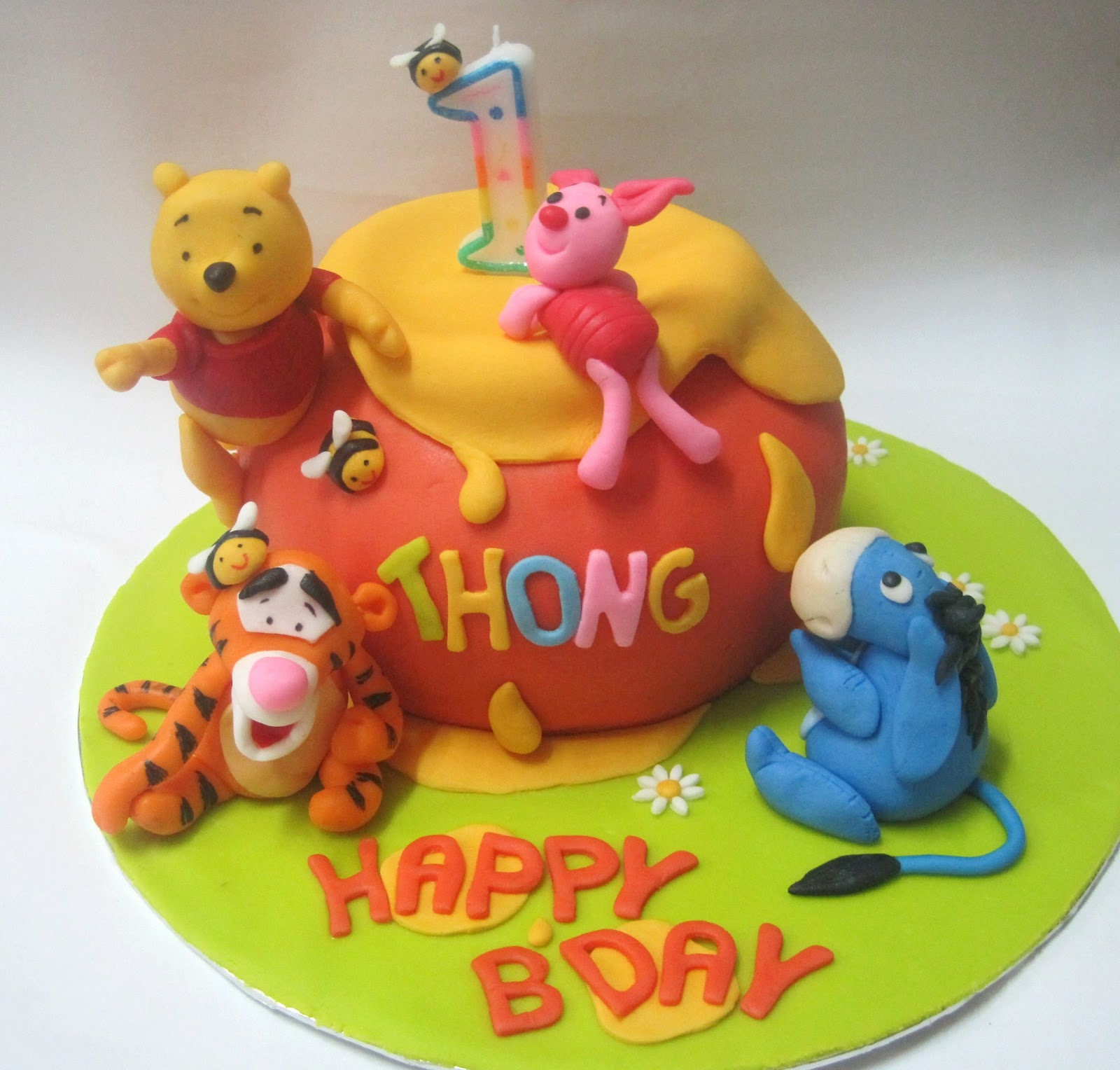 Mom And Daughter Cakes 3d Winnie The Pooh Friends Hunny Pot
