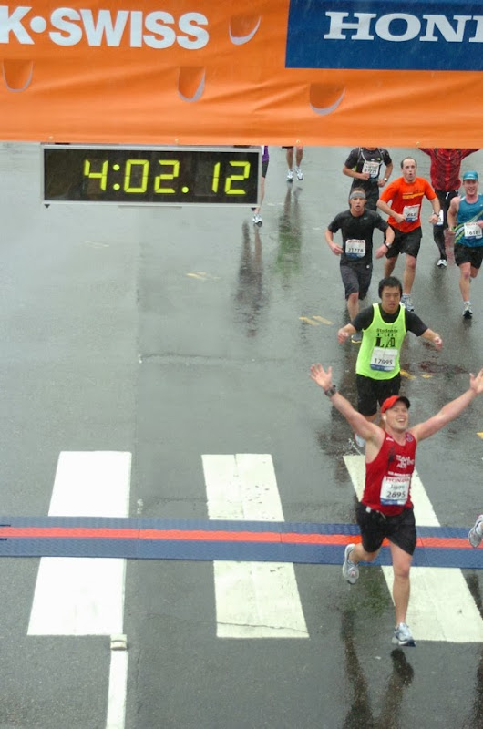 L.A. Marathon 2011 Finish Line
