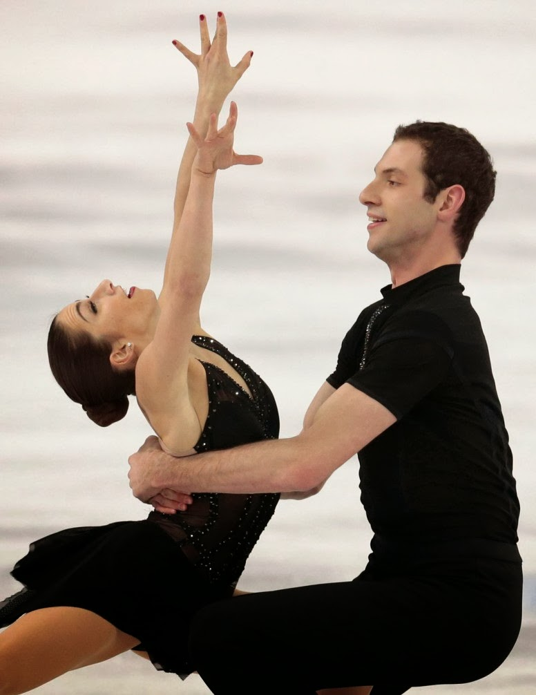 Marissa Castelli, Black Magic Woman,ice skating pair