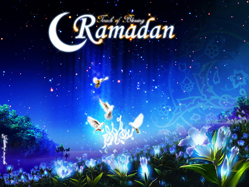 download wallpaper animasi ramadhan