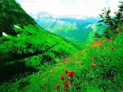 Kumpulan Gambar Lembah di Pegunungan Terbaik
