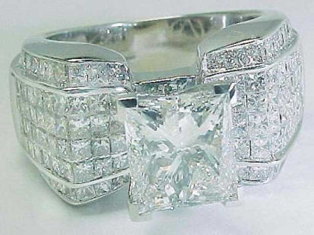 big diamond wedding rings With wedding rings with a big diamond