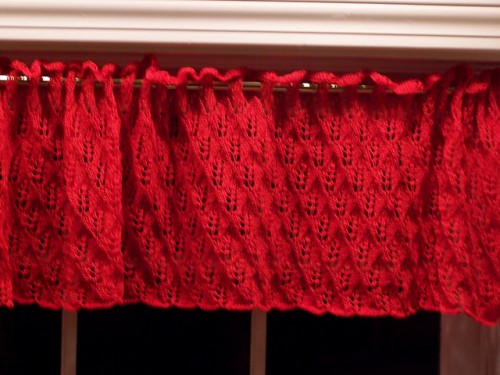 Candlestick Curtains - Free Pattern