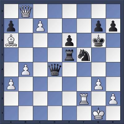Les Noirs jouent et matent en 6 coups - Niveau Fort