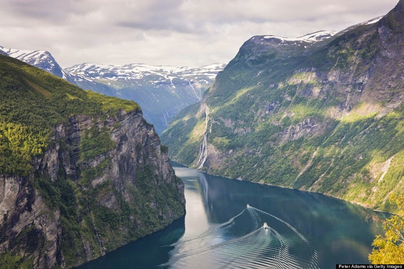 9. Ferrying through Geirangerfjord - 10 Reasons Norway is the Greatest Place on Earth