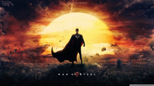 Man of Steel Superman Movie Wallpaper
