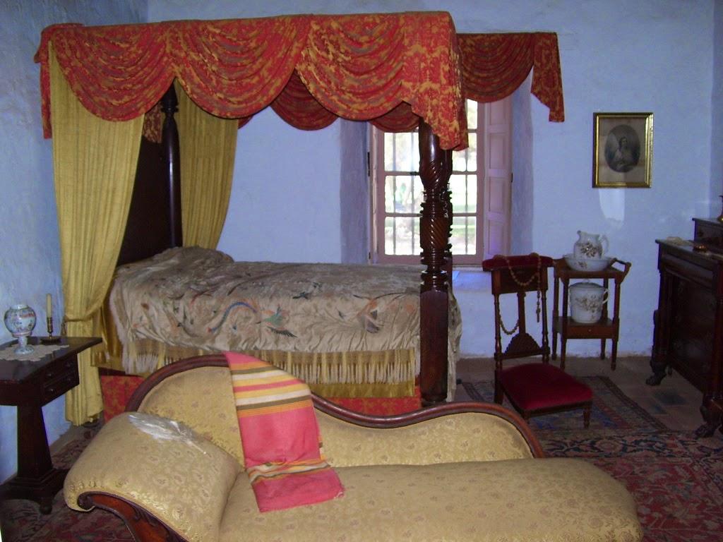 Casa de Estudillo Master Bedroom