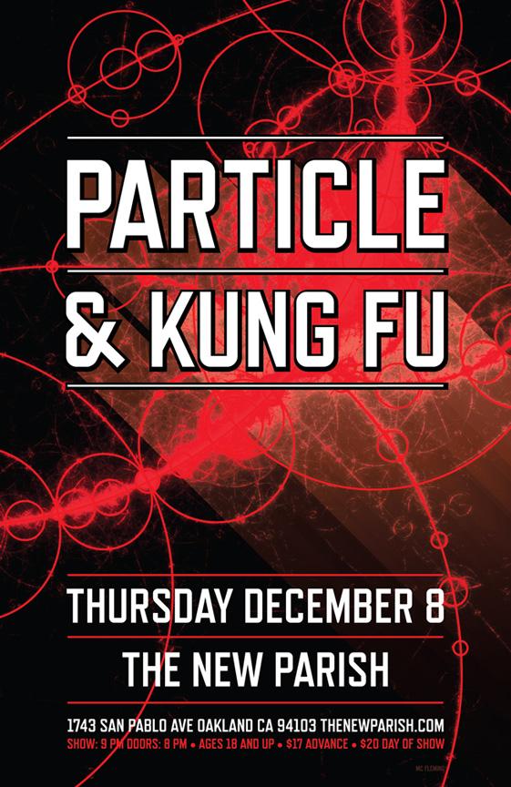 12/8 Particle & Kung Fu at The New Parish