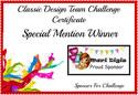CDT Special Mention Winner