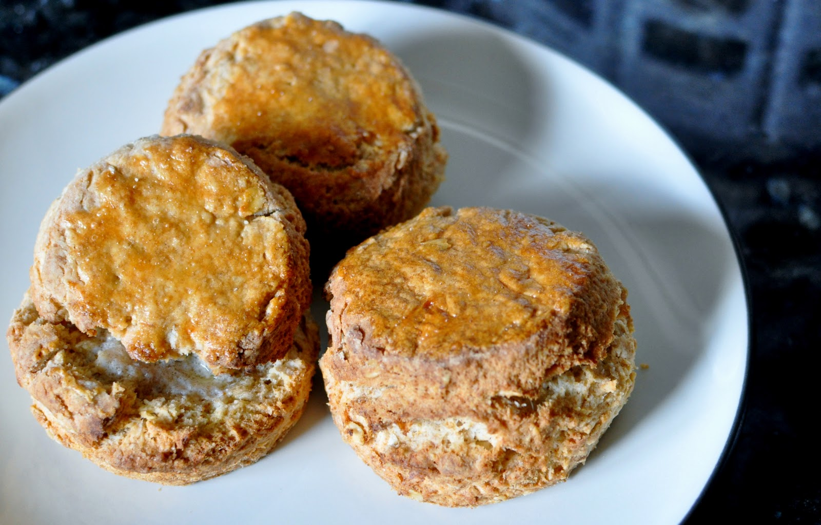 Oat And Maple Syrup Scones Recipe — Dishmaps