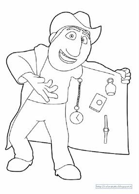 Freddy disegno colorare
