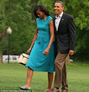 Michelle obamas term paper