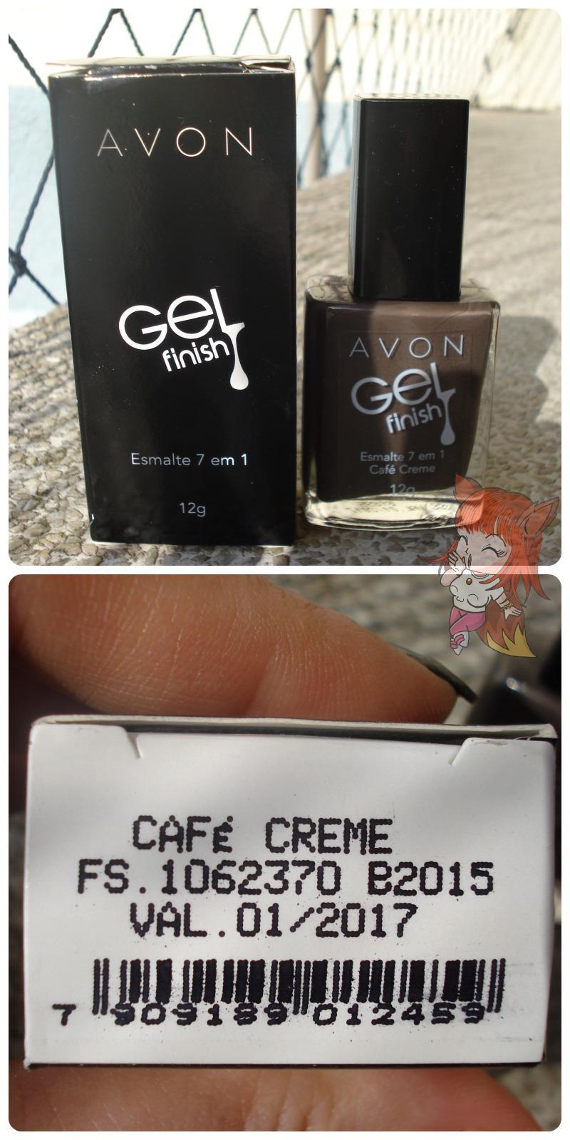 Esmalte em Gel Avon :: Café Creme