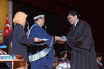 Convocation Ceremony For Graduates Of PDSM 6 From University Malaya - 2005